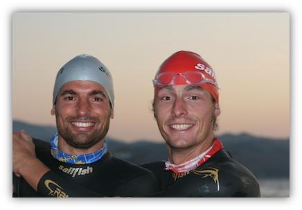 Job done !!! (Axel & Micha - swim2africa)
